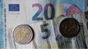 29 Euros par moias